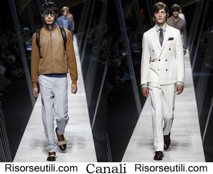 Collection Canali spring summer 2017