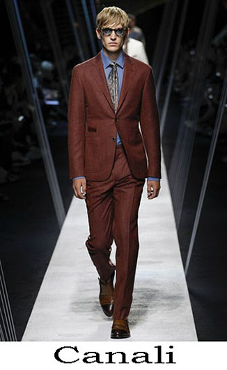 Collection Canali spring summer for men