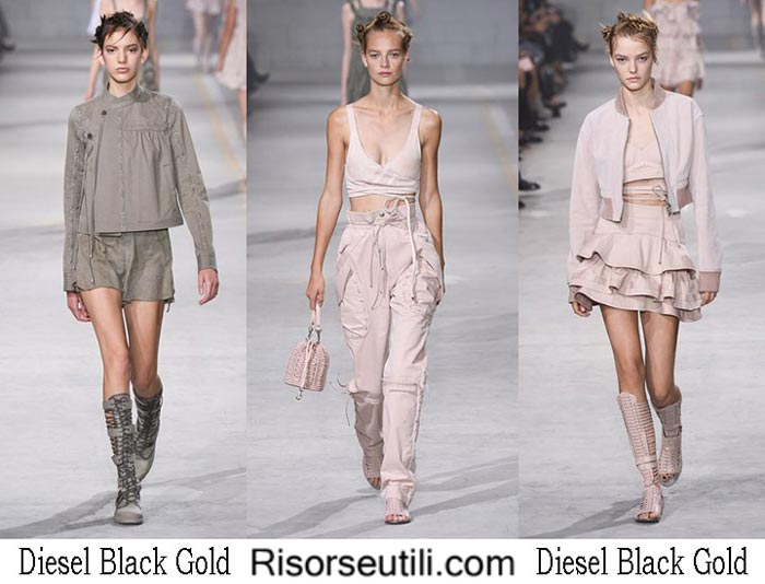 Diesel Black Gold spring summer 2017 fashion show for women