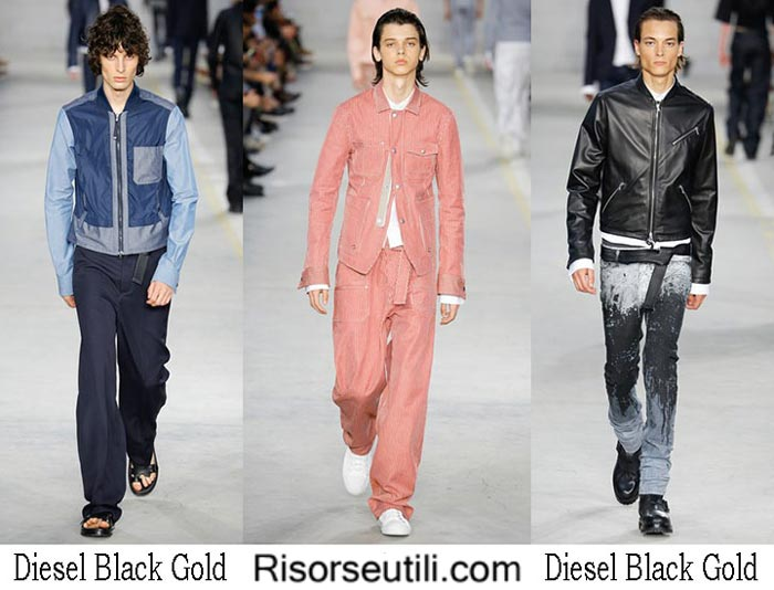 Diesel Black Gold spring summer 2017 lifestyle for men