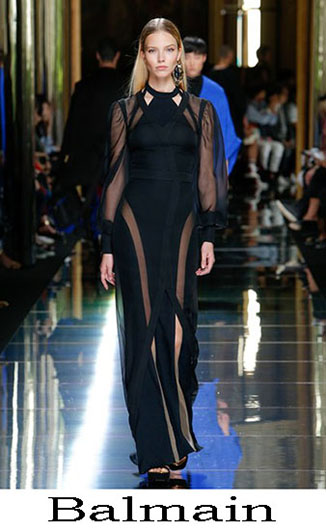 Evening dresses Balmain spring summer 2017