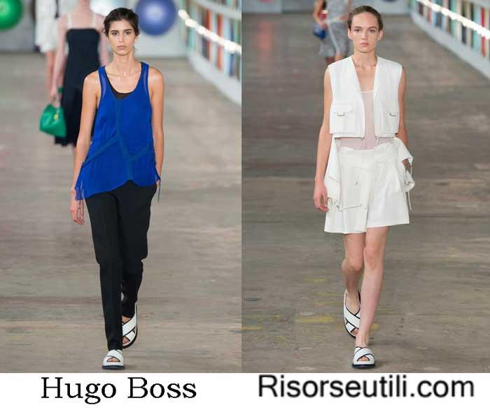 Hugo Boss spring summer 2017 fashion show for women