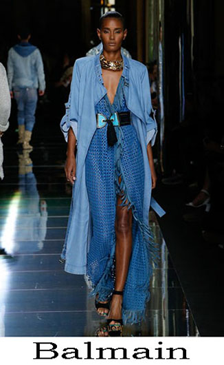 Latest trends Balmain spring summer 2017