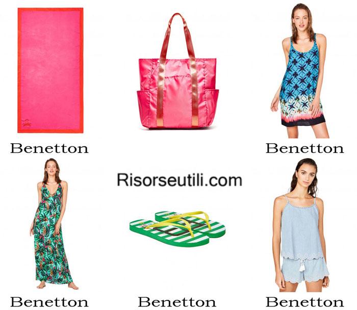 Beach accessories Benetton summer 2017