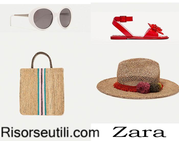 Beach accessories Zara summer 2017
