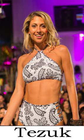 Beachwear Tezuk summer swimwear bikini look 8