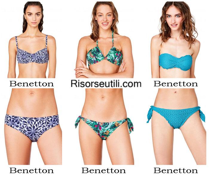 Swimsuits Benetton summer 2017