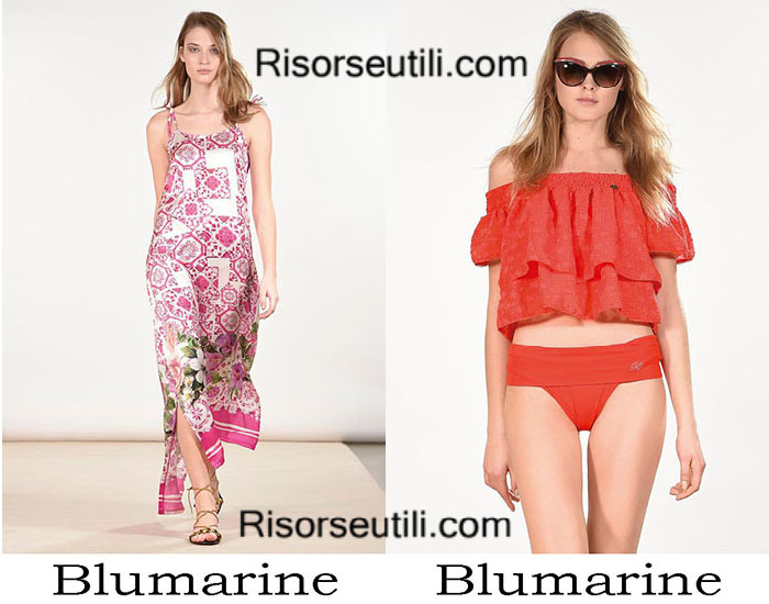 Beachwear Blumarine summer 2017