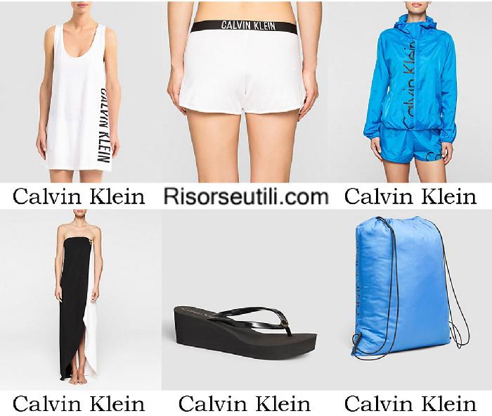 Beachwear Calvin Klein summer 2017