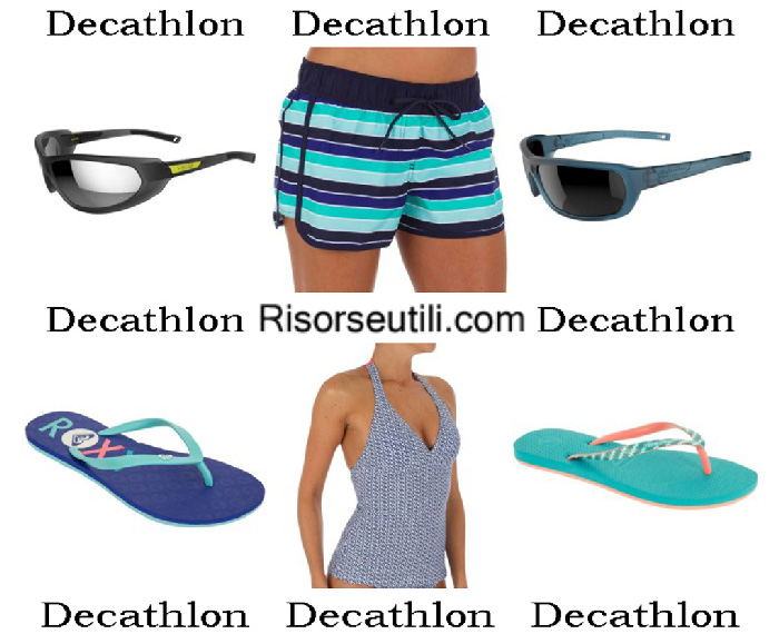 Beachwear Decathlon summer 2017