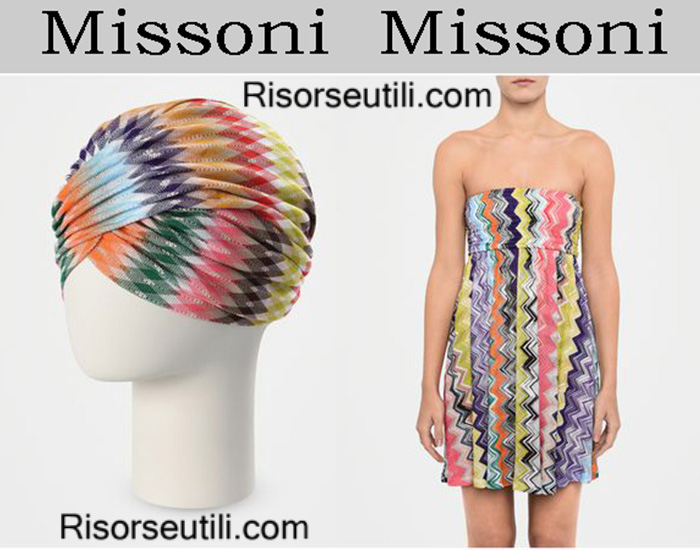 Beachwear Missoni summer 2017