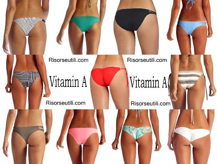 Swimwear Vitamin A summer 2017
