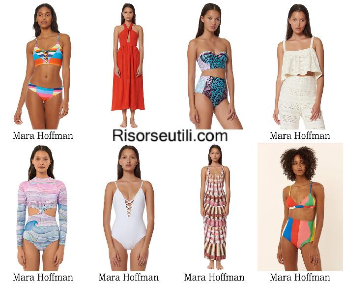 Beachwear Mara Hoffman summer 2017 swimwear bikinis