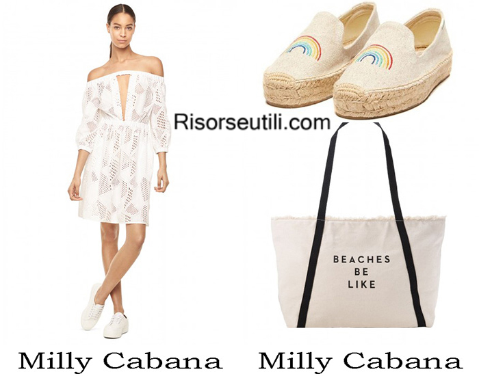 Beachwear Milly Cabana summer 2017