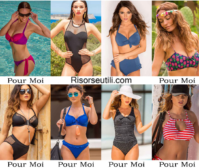 Beachwear Pour Moi summer 2017 swimwear bikinis