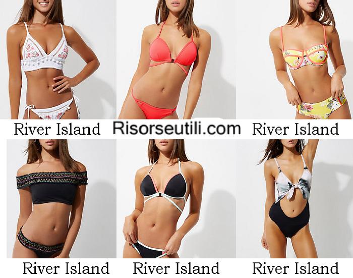 Beachwear River Island summer 2017 swimwear bikinis