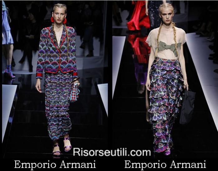 Brand Emporio Armani spring summer