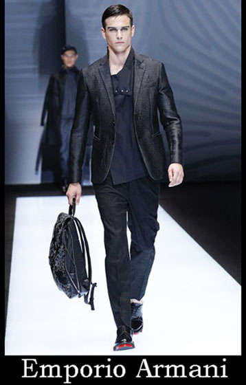 Catalog Emporio Armani spring summer men look 1