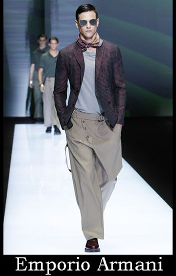 Catalog Emporio Armani spring summer men look 4