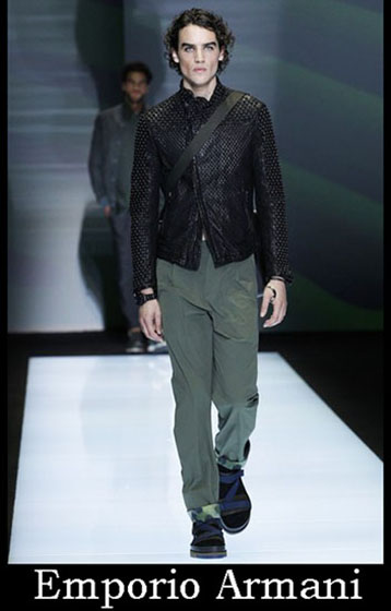 Clothing Emporio Armani spring summer men look 1