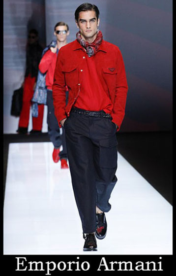 Clothing Emporio Armani spring summer men look 4