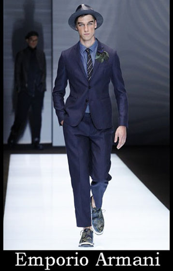 Clothing Emporio Armani spring summer men look 8