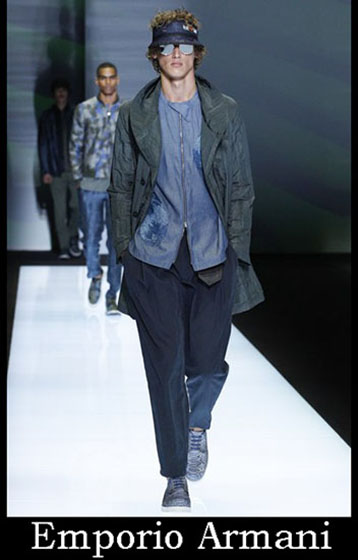Clothing Emporio Armani spring summer men look 9