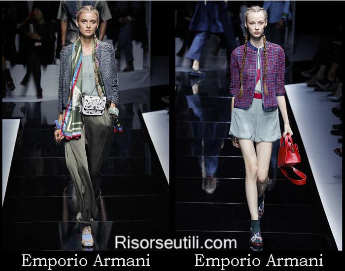 Clothing Emporio Armani spring summer