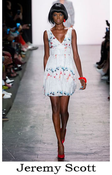 Clothing Jeremy Scott spring summer look 2