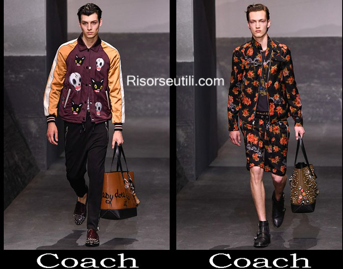 Fashion Coach spring summer 2017 clothing for men