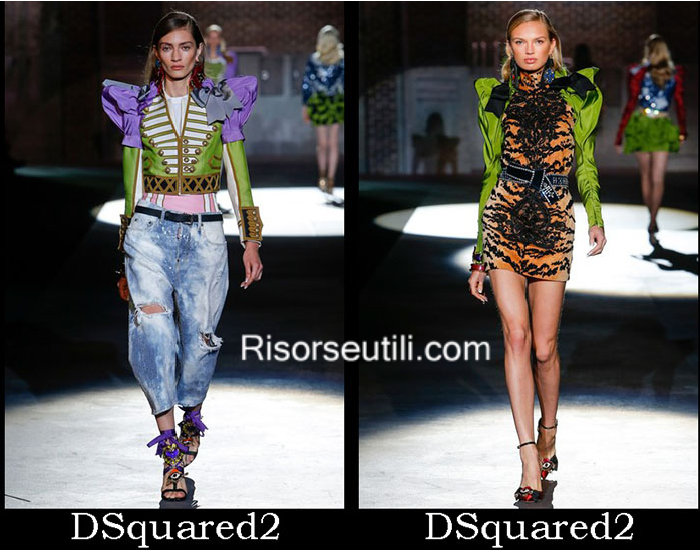 Fashion DSquared2 spring summer 2017 clothing