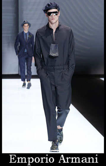 Fashion Emporio Armani spring summer men look 1