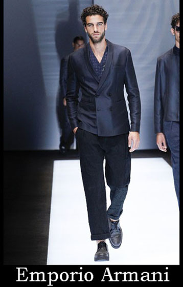 Fashion Emporio Armani spring summer men look 2