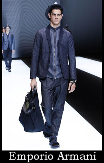 Fashion Emporio Armani spring summer men look 3