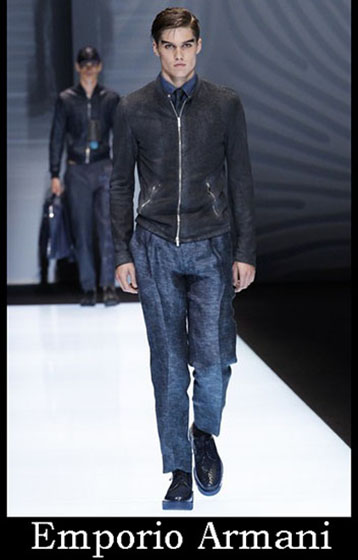 Fashion Emporio Armani spring summer men look 5