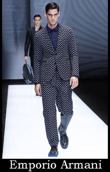 Fashion Emporio Armani spring summer men look 8