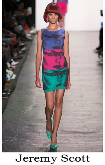 Fashion Jeremy Scott spring summer look 8