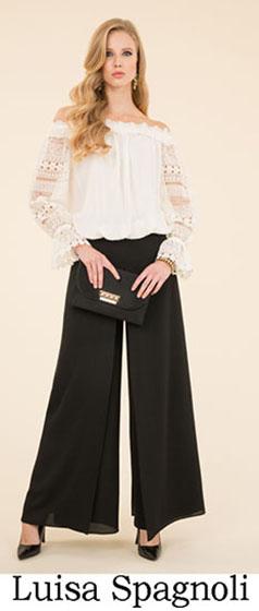 Fashion Luisa Spagnoli spring summer look 4