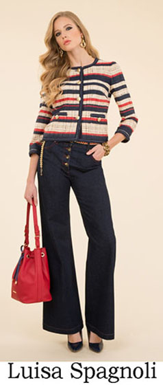 Fashion Luisa Spagnoli spring summer look 8