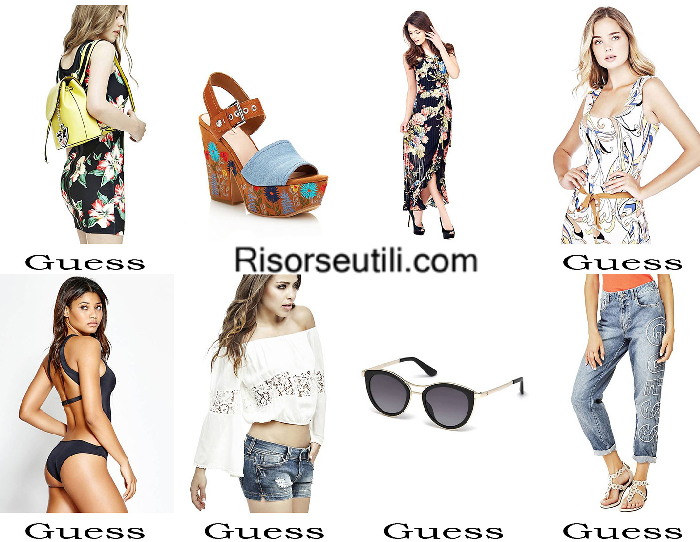 Outfits Guess summer 2017 fashion clothing