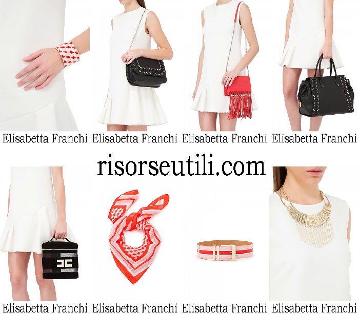 Accessories Elisabetta Franchi summer sales