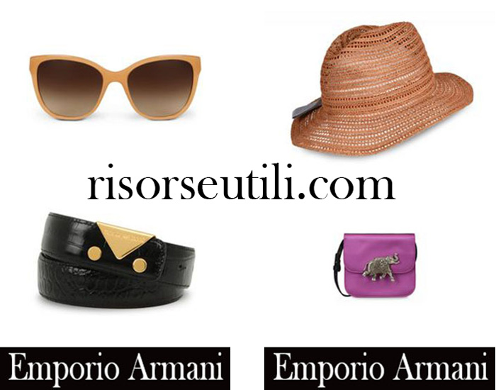 Accessories Emporio Armani summer sales