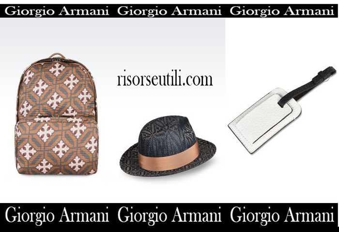 Accessories Giorgio Armani summer sales men