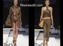 Brand Tod's spring summer 2017 women clothing