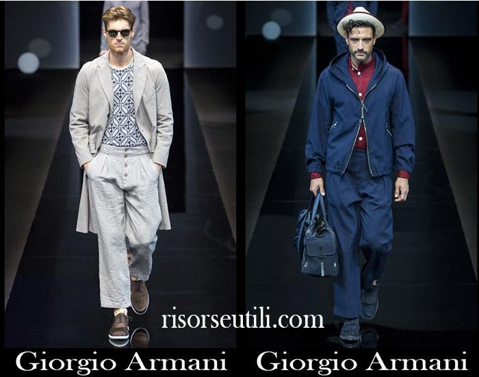 Catalog Giorgio Armani spring summer men