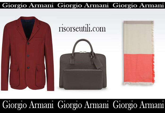 Catalog Giorgio Armani summer sales men
