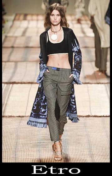 Clothing Etro spring summer women look 1