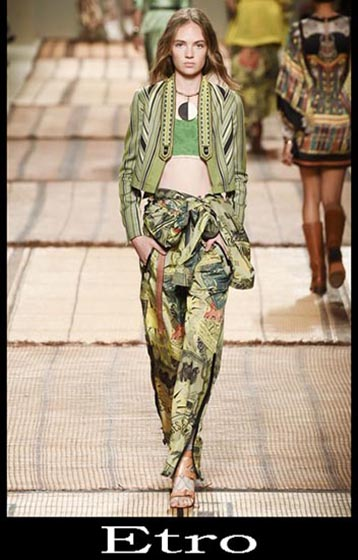 Clothing Etro spring summer women look 3