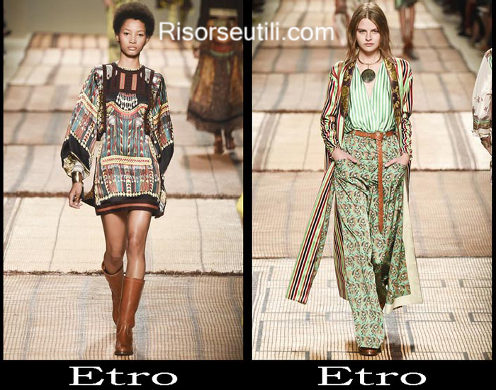 Clothing Etro spring summer