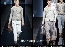 Fashion Giorgio Armani spring summer 2017 for men